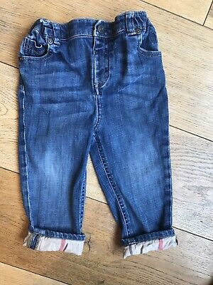 Burberry Jeans 2 Years Old (24 Months) Girl Or Boy