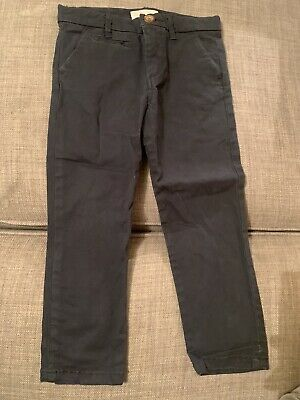 Boys Navy Chino Trousers From Zara Age 4 Years