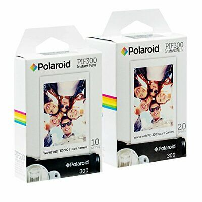 Polaroid PIF300 Instant Film Replacement - Designed for use with Fujifilm Inst..