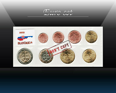 1996 to 2007 UNC Slovakia SET of 7 COINS,10 20 50 Haller 1 2 5 10 Sk
