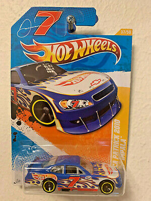 2011 Hot Wheels Racing DANICA PATRICK 2010 Chevy Impala NASCAR Stock Car Blue #7