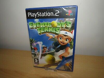 Everybody's Tennis, For Sony Playstation 2, PS2, NEW SEALED pal