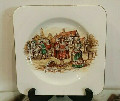 Vintage collectable Lancaster plate made in England ( 19cm)