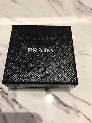 Prada Saffiano Blue Leather Bracelet