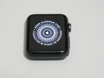 Apple Watch Series 3 42mm GPS+Cellular Space Gray Aluminum Case *For Parts Only*