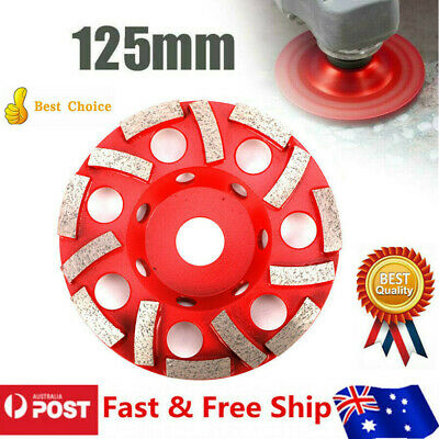 Grinding Cup Wheel Premium Diamond Segment Cutting Disc 125mm Angle Grinder Tool