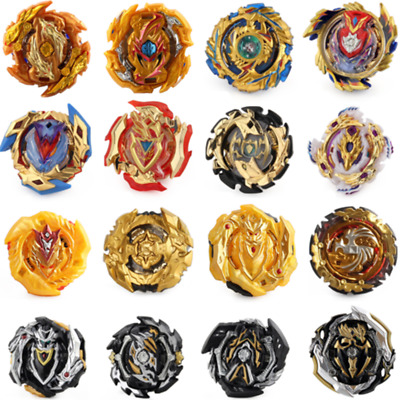 Gold Metal Beyblade Series Burst Fusion Toupie Spingning Top - Beyblade Only