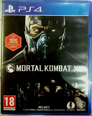 Mortal Kombat XL - Playstation 4 - Great Condition - PS4 - Fast Dispatch *