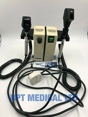 Welch Allyn 74716 Wall Transformer Handheld Otoscope Ophthalmoscope 2 HEADS