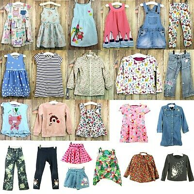 Girls Spring Summer Clothing Bundle 3-4 Years Mini Boden Next M&S Joules Kite