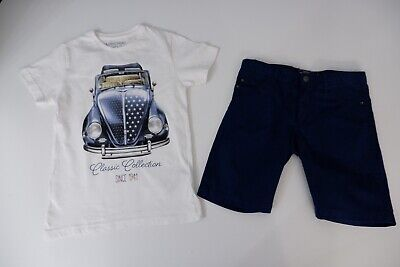 mayoral Outfit Set Shorts Age 6 Years & T Shirt Age 7 Years Boys