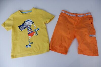 Little Marc Jacobs Age 8 Years Size 126 Shorts & T Shirt Vgc Boys