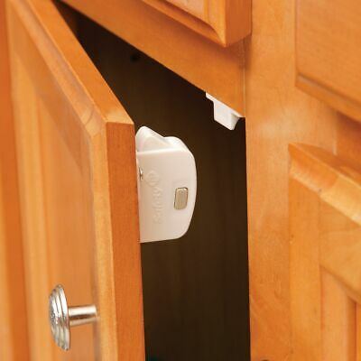 Safety 1st - Deluxe Magnetic Locking System - White