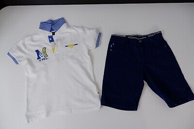 Mayoral Outfit Set Shorts & T Shirt Top Age 7 Years Size 122cm VGC Boys