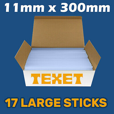 Glue Sticks Hot Melt Long Length for Glue Gun 11mm x 300mm  EQUAL TO 51 x 100mm