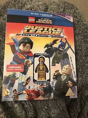 Lego: Justice League - Attack Of The Legion Of Doom [New Blu-ray]