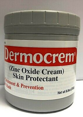 dermocrem skin protectant for treatment &amp Prevention of diaper rash zinc oxic