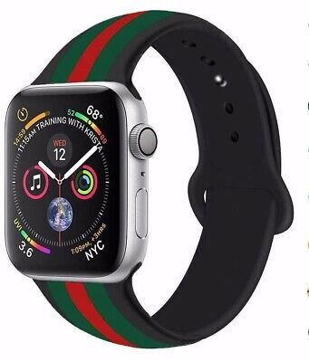 New Apple Watch iWatch Series 3 4 5 38/40/42/44mm Soft Silicon Sport Strap Band