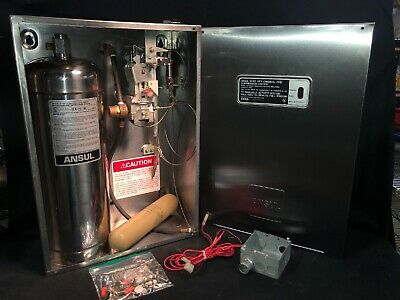 ANSUL SYSTEM R-102 LIQUID AGENT Restaurant FIRE SUPPRESSION System