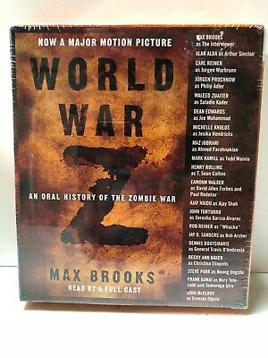 World War Z: An Oral History of the Zombie War (CD) New