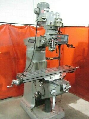 Bridgeport Series 1 2Hp Variable Speed Knee Mill W/ 2-Axis Dro