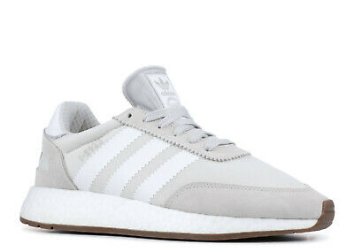 Adidas Originals I-5923 Mens Size 9.5 Gray White Running Shoes Boost New In Box
