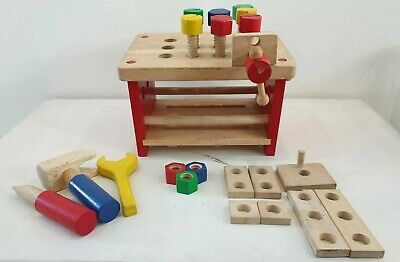 Pretend Play Wooden Workbench for John Lewis by Mischief