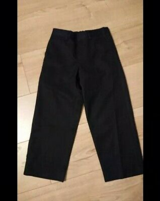 boys school trousers in black aged 5 years from BHS