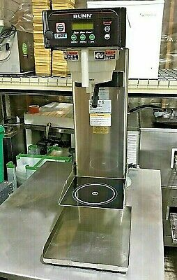 "Bunn Coffee & Tea  ITCB-DV,29"" TRK w/TRAY (FUZE).  Commercial brewer"