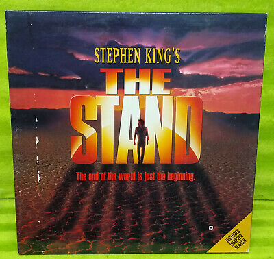 Stephen King's THE STAND - Laserdisc 3 Discs - with 5 Photos