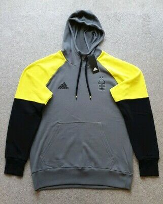 Nottingham Forest Adidas Training Hoodie Mens Size Large Brand New