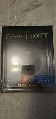 Game of Thrones: Season 8 Steelbook (4K UHD Blu-ray/Blu-ray) Factory Sealed