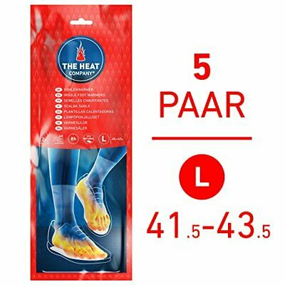Insole Foot Warmers EXTRA WARM 8 Hours Of Warmth Instant Heat Air Activated Pure