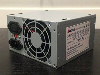 Brand NEW--Hercules 600w-MAX ATX Power Supply 120mm-Fan 20+4Pin /& SATA