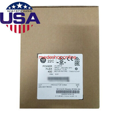 USA STOCK Allen-Bradley 22C-D017N103 PowerFlex 400 AC Drive Ship Fast Warranty