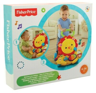 NEW Fisher Price Musical Lion Walker from Mr Toys
