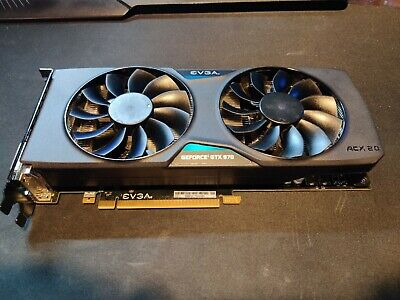 EVGA GeForce GTX 970 SC graphics card (Used)