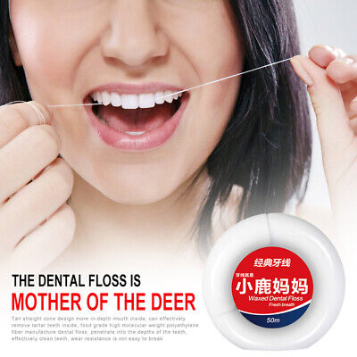 Dental Floss Oral Care Peppermint Micro Tooth Cleaner Health Hygiene Supplies_