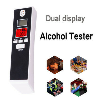 Portable Breathalyzer Breath Alcohol Analyzer Tester Digital Detector for Police