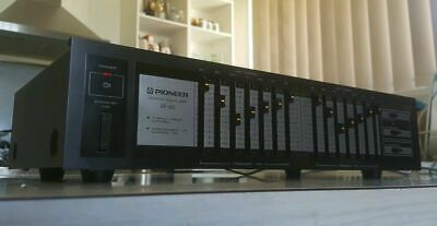 VINTAGE PIONEER STEREO GRAPHIC EQUALIZER/7 BAND/1980,s/MADE IN JAPAN