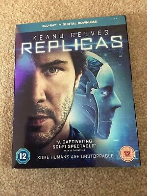Replicas  with  Keanu Reeves New & Sealed (Blu-ray  2019)