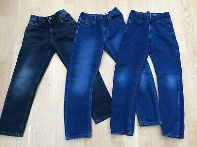 Boys Next Jeans Bundle Age 7 and 8 Years. Regular Fit