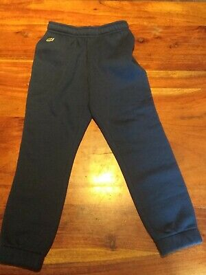 Blue Lacoste Sport Junior Joggers Sweatpants Age 8 Years Brand New