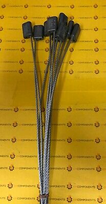"""ULINE H-1346 1/8"""" x 12"""" SINGLE-USE CABLE SEALS LOT OF 50"""