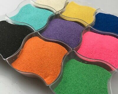 900g Coloured Sand Wedding Unity Ceremony Centrepiece Decoration Kids Art Sand