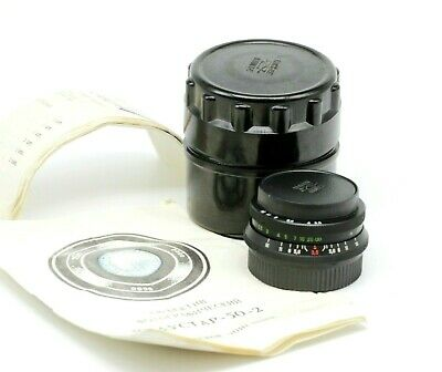 NEW Industar 50-2 3.5/50 Vintage Pancake Lens SLR & Digital M42 mount portrait