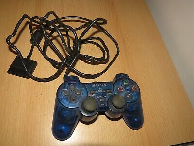 Official  Blue PlayStation 2 Controller ps2