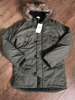 marks and spencer Boys Coat Age 13-14 Bnwt