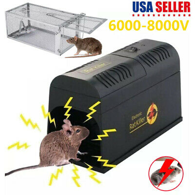 Electronic Mouse Trap Victor Pest Control Rat Killer Mice Electric Rodent Zapper