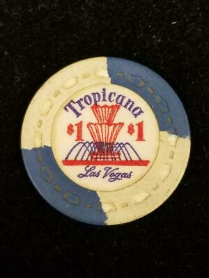 Tropicana Las Vegas Casino $1 Poker Chip